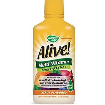Nature's Way Alive! Multi-Vitamin Citrus Flavor Liquid