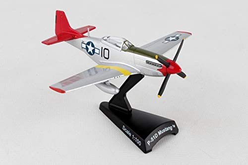 Daron Worldwide Trading P-51 Mustang Tuskegee 1:100 Vehicle Daron Worldwide Trading Diecast Vehicle