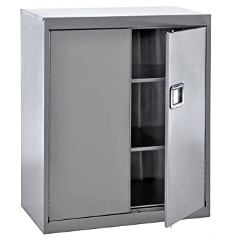 Amazon.com: Sandusky Lee SA2D361842-XX 304 Stainless Steel Storage ...