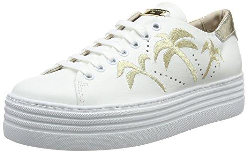 Fox C00 Tosca Donna Sneaker Blu Bianco Bianco Trot PwwqZ4O5