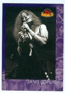 Singer Signed Autograph Card (Janis Joplin trading card (Singer Piece of my Heart) 2001 Topps #148 American Pie)