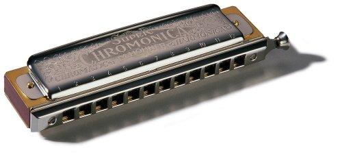 Hohner Super Chromonica Chromatic Harmonica, Key of Bb by HOHNER
