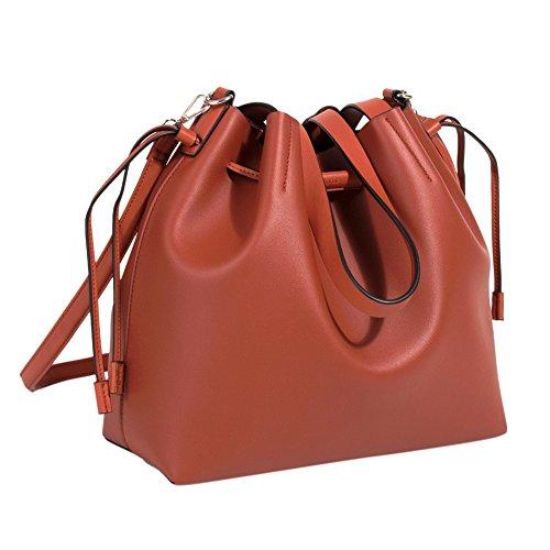 Parfois - Einkaufstasche Tangled - Damen - Größe M - Rost 1uSJ7OP