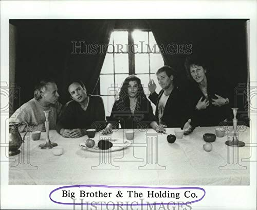 Vintage Photos 1989 Press Photo Members of The Rock Group Big Brother & The Holding Company