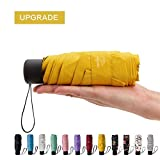 Best Mini Travel Umbrellas - NOOFORMER Mini Travel Sun&rain Umbrella - Light Compact Review