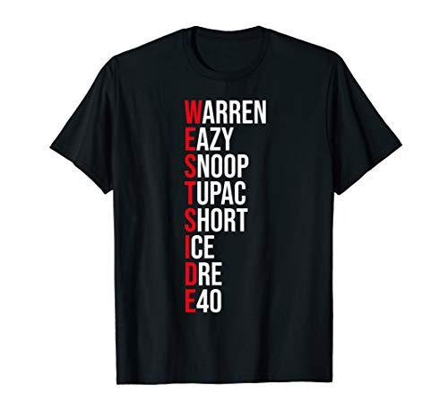 West Side Hip Hop Rap Music Artist Shirt