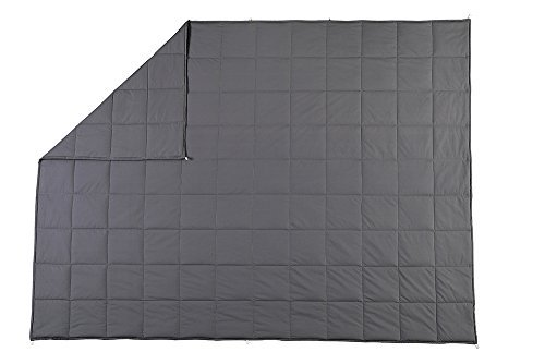 Weighted Blanket by MYKPOP for Adults(25 lbs for 240 lbs individual), Fall Asleep Faster and Sleep Better, Great for Anxiety, ADHD, Autism, OCD, and Sensory Processing Disorder 60x80 Inch