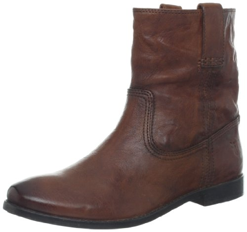 Frye Womens Anna Shortie Boot Cognac-71055