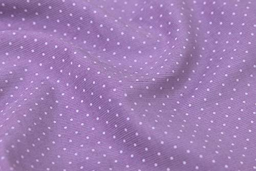 (Fine Wale Cotton Dot Corduroy Black, Navy, Gray, Brown, Purple,Green, Sky, Ivory, Red, Pink Fabric by Yard (C84206))