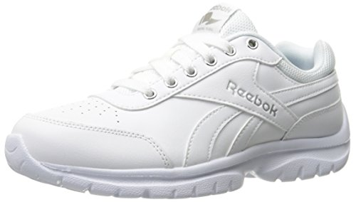 Reebok Women's Royal Lumina Pace Running Shoe, White/Silver Metallic, 7.5 D US by Reebok