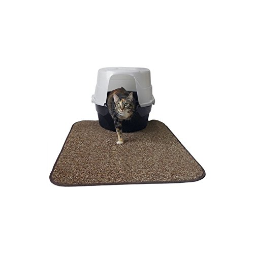 Neat N Tidy Litter Mat by Imperial Cat, Brown (Pack of 2) by Imperial Cat