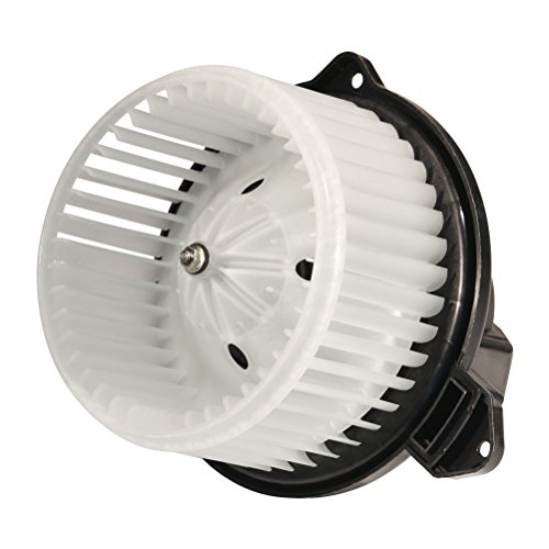 AC Blower Motor With Fan - Replaces# 5012701AB, 5096255AA, 5096256AA, PM9198, 700012 - Fits Dodge Ram 1500, Dodge Ram 2500, Dodge Ram 3500, 2002-2004 Jeep Grand Cherokee - Replacement Heater Motor
