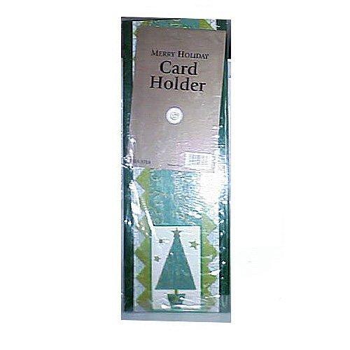 Bulk Lot Bundle (1) Dozen Foldout ''Merry Holiday'' Hanging Wall Greeting Card Holder
