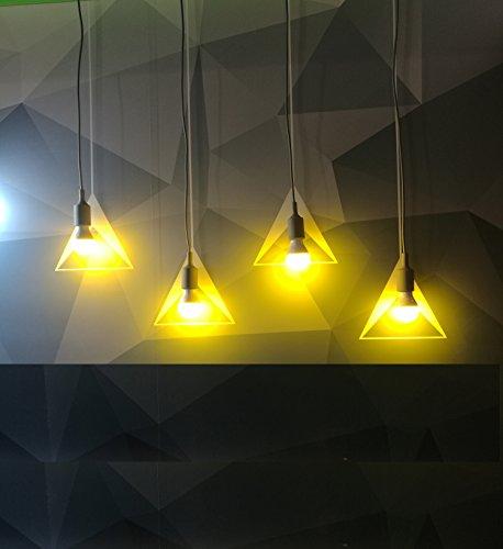 Yellow Outdoor Led Light Bulbs: Greenic 60Watt Amber Yellow LED Bug Light Bulb 2-Pack No
