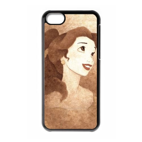 Beauty And The Beast I9I89O9HD coque iPhone 5c case coque black 4368SD