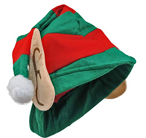 Santa's Little Helper ELF Hat With Cloth Ears -