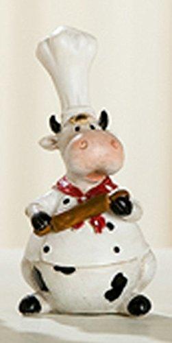 Deko-Figur Kuh Koch 4-sort. von GILDE (Nr.2)