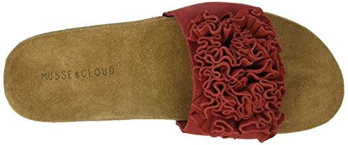 Musse & Cloud Women's Sisleysu Slide Sandal Red 0zfNa