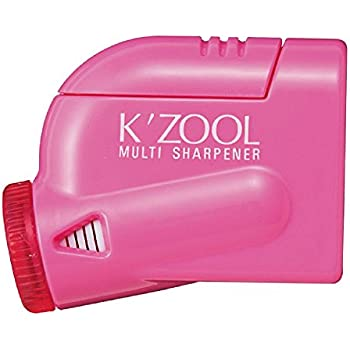 Kutsuwa STAD Angle Adjustable Pencil Sharpener K'ZOOL, Pink (RS018PK)
