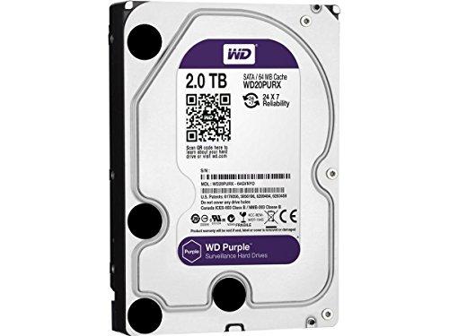 CLASSYTEK WD Purple WD20PURX 2TB Surveillance 3.5