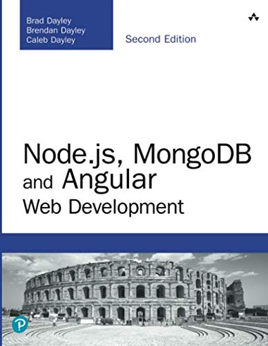 Node.js, MongoDB and Angular Web Development (Developer's Library)