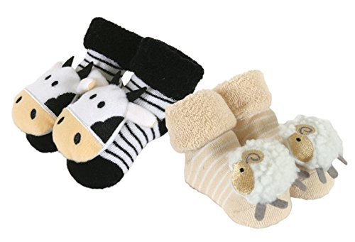 Stephan Baby 2 Piece Rattle Socks