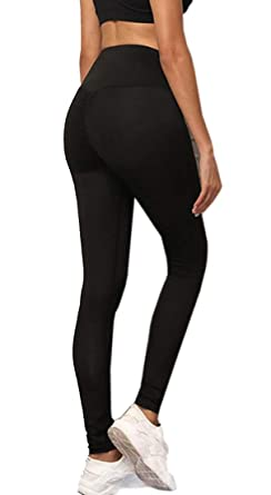 Amazon.com: FRPE - Pantalones de yoga para mujer, espalda ...