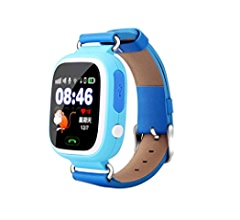 Amazon.com: Global Positioning Touch Color Screen GPS Childrens Smart Watch WiFi Children Positioning Watch (Pink): Cell Phones & Accessories