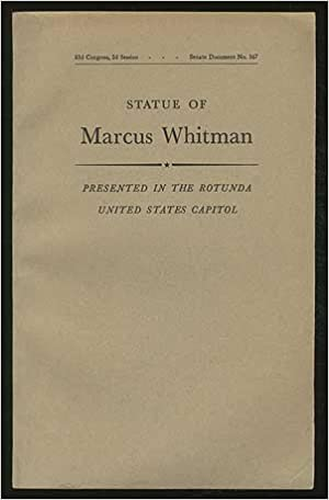Acceptance Of The Statue Of Marcus Whitman, Presented By The State Of Washington, n/a