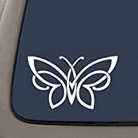 "NI143 Celtic knot butterfly vinyl decal bumper sticker | 6"" X 3.5"" 