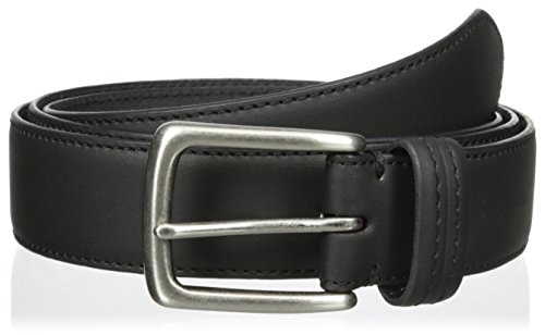 Columbia Men's Big & Tall Trinity 1 3/8 in. Feather Edge Belt, Black, 52 (Extended Size) (Big Tall Belt)