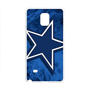 Blue unique star Cell Phone Case for Samsung Galaxy Note4 by Maris's Diary