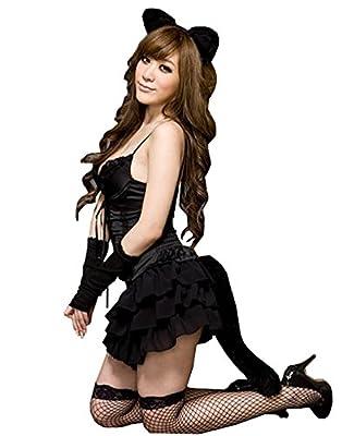 Fllt Sweet Bunny Cat Girl Sexy Bubble Skirt Halloween Costume Lingerie Set