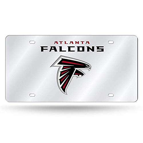 - Titan Eletina Car Decorations Sign Laser Inlaid Metal License Plate Tag, Silver