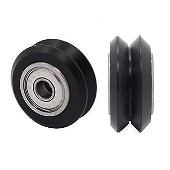 anycubic plástico V tipo Polea ruedas con rodamientos para ...
