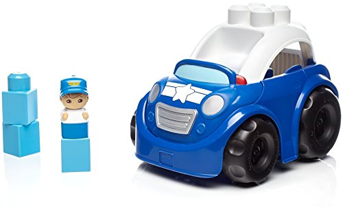 Mega Bloks Peter Police Car Building Set ()