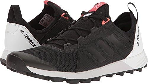 adidas outdoor Women's Terrex Agravic Speed Black/Black/White 10 B US