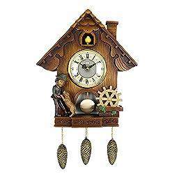 PQ Vivid Large Cuckoo Clock、Wall Cuckoo Clock,Chime Has Automatic Shut-Off [Kitchen & Home] (3)