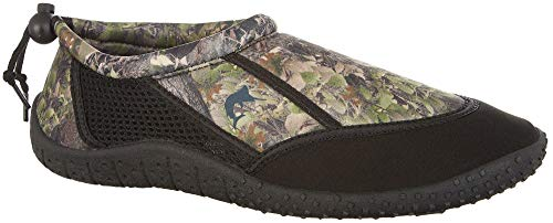 Reel Legends Mens Gulf Water Shoes 8 Green Multi