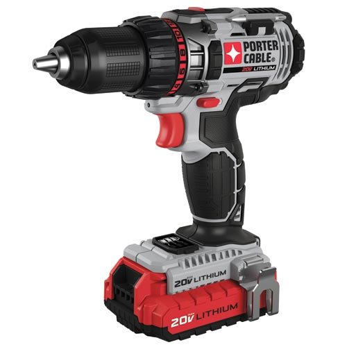 PORTER-CABLE PCCK600LB 20-volt 1/2-Inch Lithium Ion Drill/Driver Kit by PORTER-CABLE