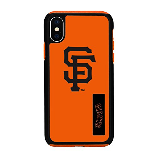 Forever Collectibles iPhone X Dual Hybrid Impact Licensed Case – MLB San Francisco Giants