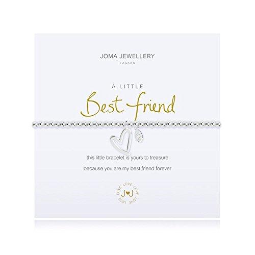 A Little Best Friend Silver Bracelet by Joma Jewellery LFtinV