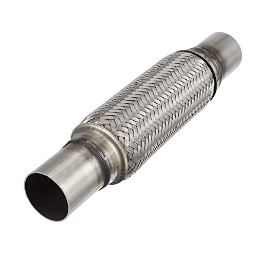 Upower 1.75 Inch Diameter Exhaust Flex Extension Pipe Connector Tube, 4