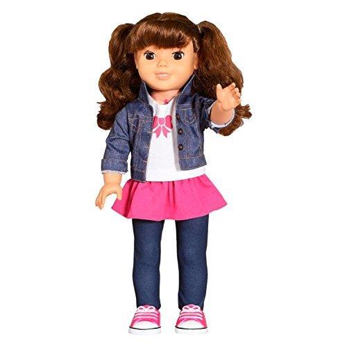 Genesis-Toys-My-Friend-Cayla-Brunette-Doll-18-w-comb-mirror-Smart-Interactive-Fashion-Doll
