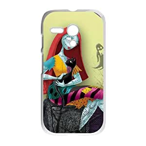 The Nightmare Before Christmas Motorola G Cell Phone Case White Ogthr