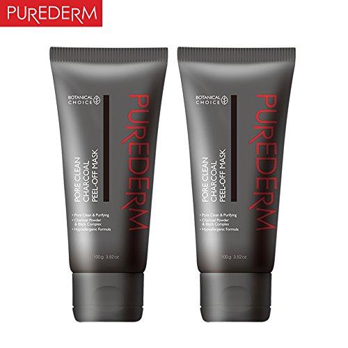 PUREDERM Pore Clean Charcoal Peel-Off Mask 100g x 2ea