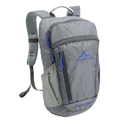 Small Travel Backpack Hiking Daypack 22L – Laptop Compartment Rain Cover
