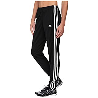 adidas Women's T10 Pants, Black/White, S