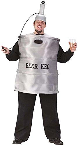 Beer Keg Adult Costume (Plus) (Keg Beer Costume)