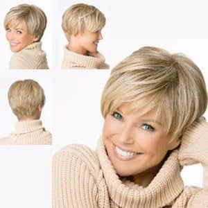 amazoncom christie brinkley wigs uptown light blonde